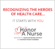 American Nurses Foundation to Honor A Nurse logo