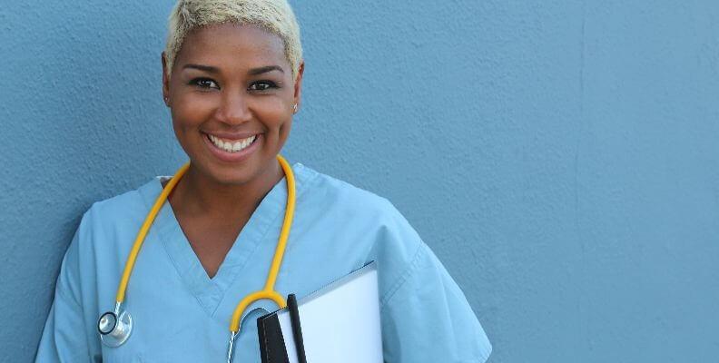 Smiling Nursing Student