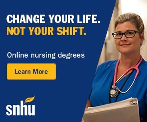 Change Your Life at SNHU with an Online Nursing Degree