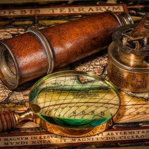 map_compass_magnifying_glass